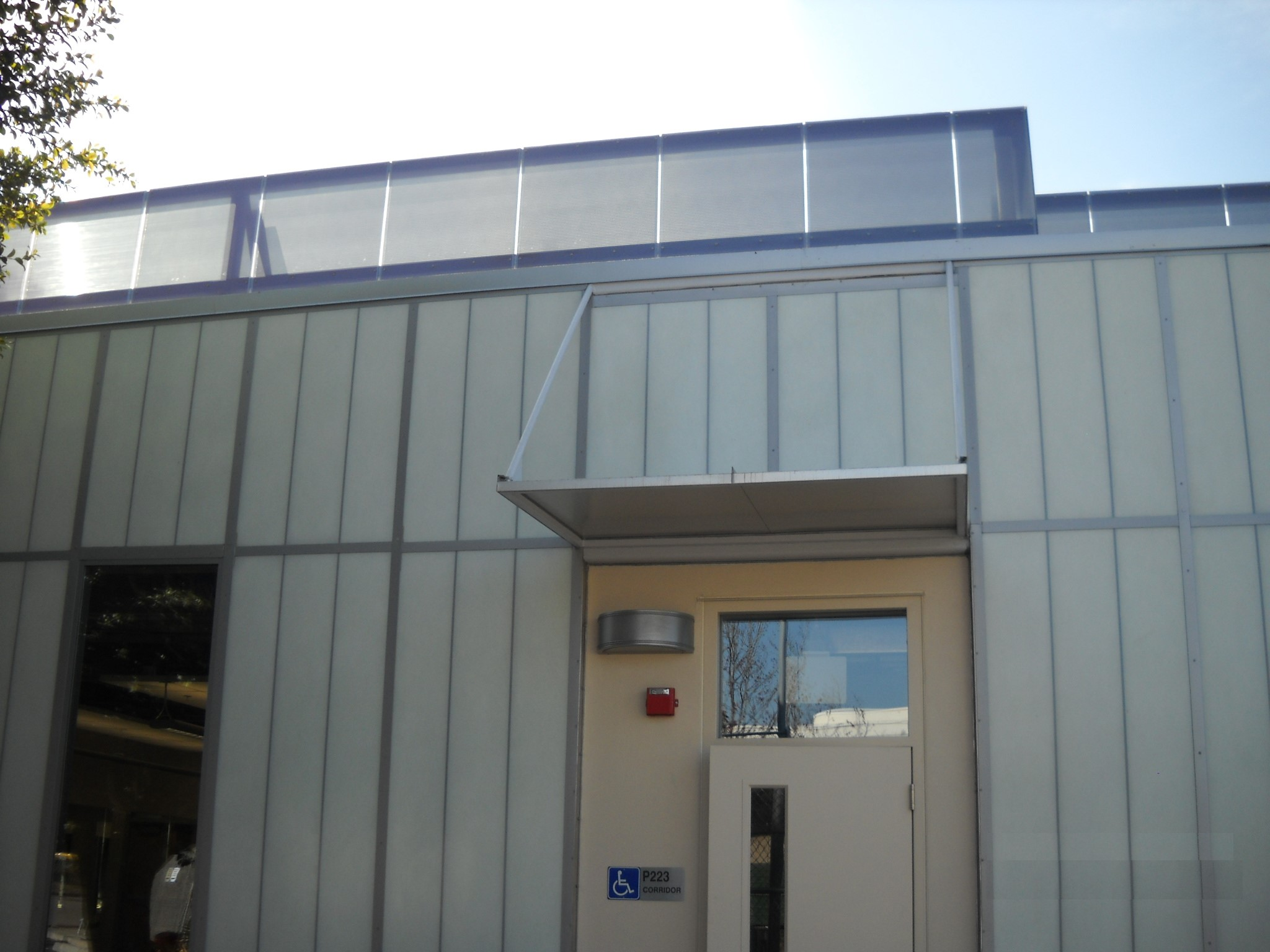 Translucent Panels For Metal Buildings : Project sd city college kalwall translucent wall panels